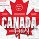 Canada Day Flyer Template - GraphicRiver Item for Sale