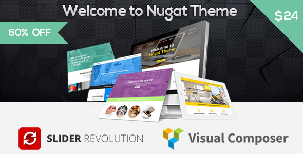 Nugat – Responsive Multi-Purpose WordPress Theme