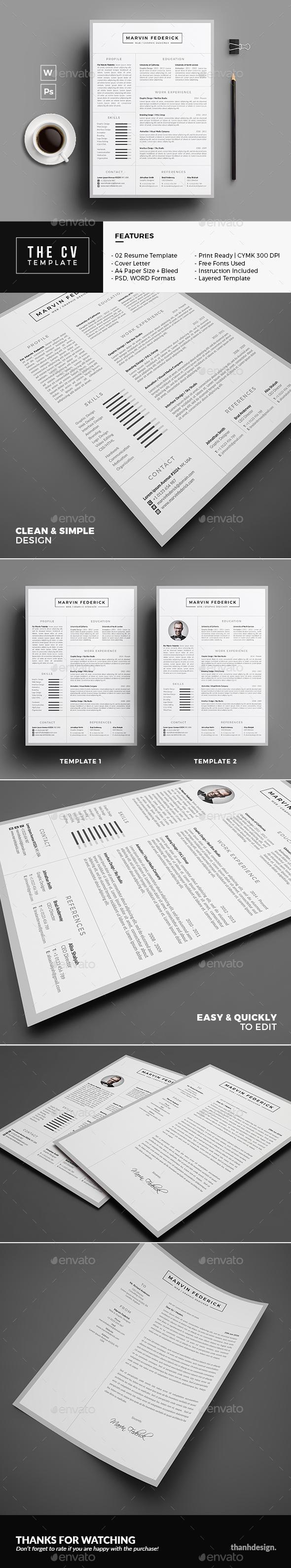 The CV - Resumes Stationery