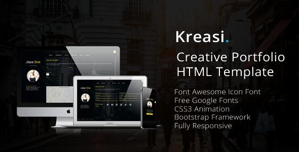 Kreasi – Creative Portfolio HTML Template
