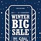 Winter Big Sale Flyer
