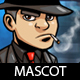 Mafia Guy Cartoon Mascot - GraphicRiver Item for Sale