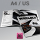 Wordly Magazine Indesign Template - GraphicRiver Item for Sale