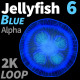 Jellyfish Blue 6 - VideoHive Item for Sale