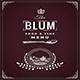 Blum Restaurant Menu - GraphicRiver Item for Sale