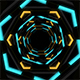 Hexa Space Tunnel - VideoHive Item for Sale