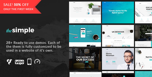 The Simple –  Responsive Multi-Purpose Business Theme