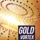 Golden Vortex Background - VideoHive Item for Sale