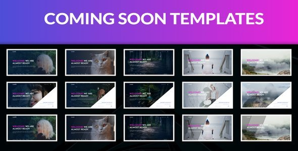 Coming Soon Template - Under Construction Specialty Pages