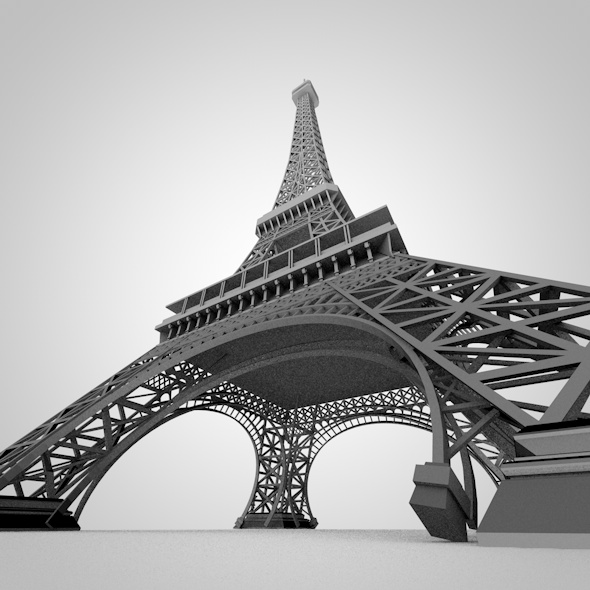 Eiffel Tower - 3DOcean Item for Sale