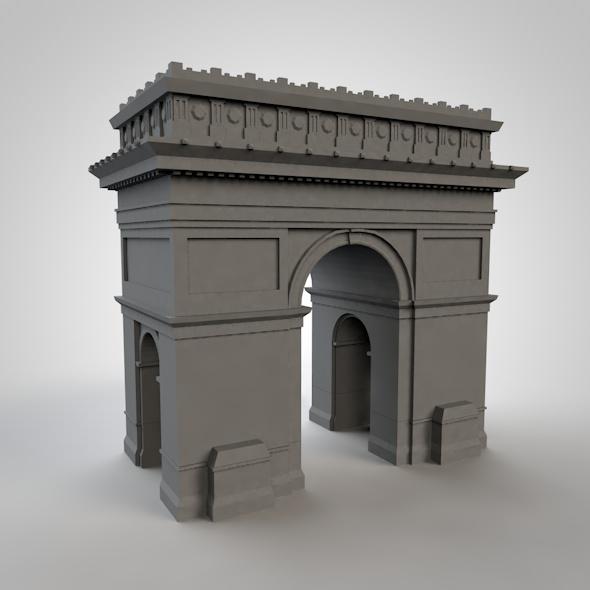 Arc triomphe - 3DOcean Item for Sale