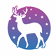 Night Deer Logo Template - GraphicRiver Item for Sale