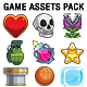 Vector Game Assets Pack - Objects, Power Ups, VFX and Elements - GraphicRiver Item for Sale