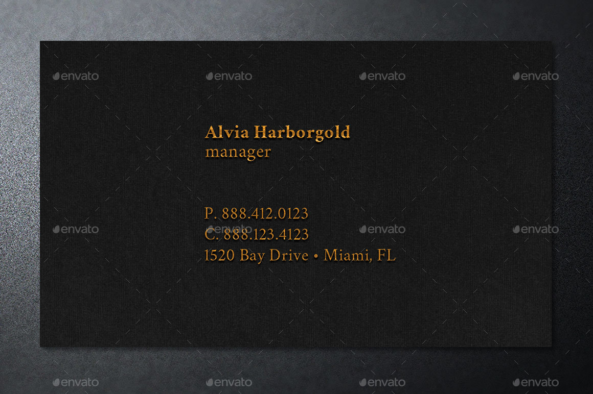 Jewelry Shop Business Card Template by Godserv2 | GraphicRiver