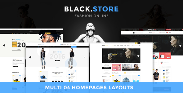 Lexus Blackstore - Megastore Opencart Theme - OpenCart eCommerce