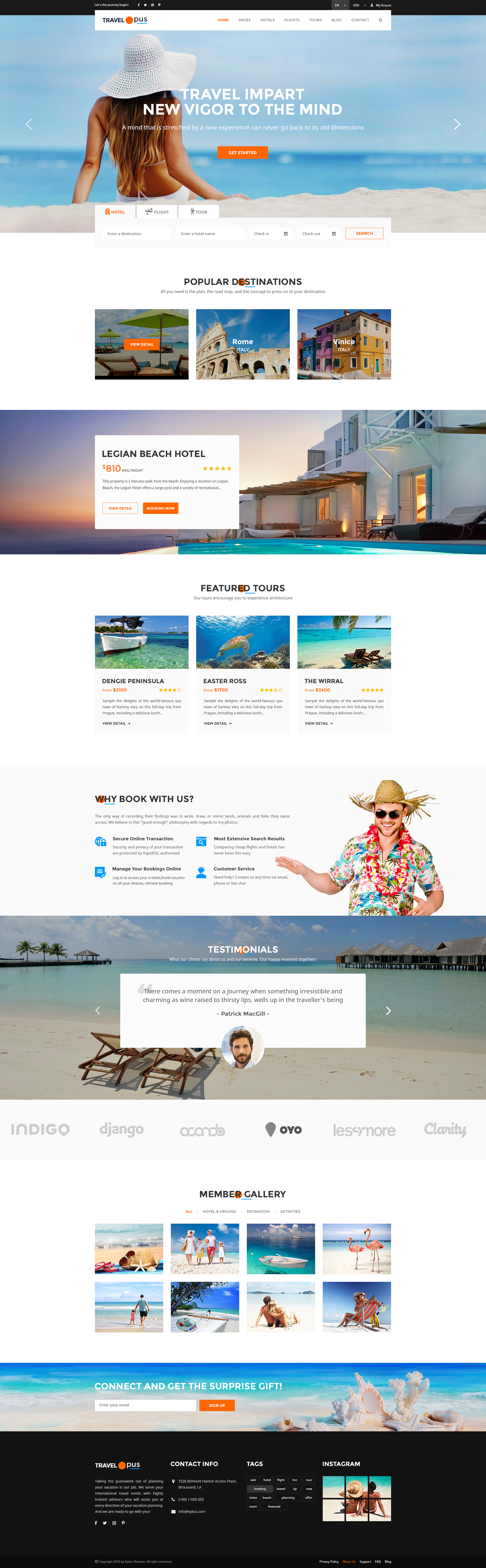 Travel Opus PSD Templates by eplus-themes   ThemeForest