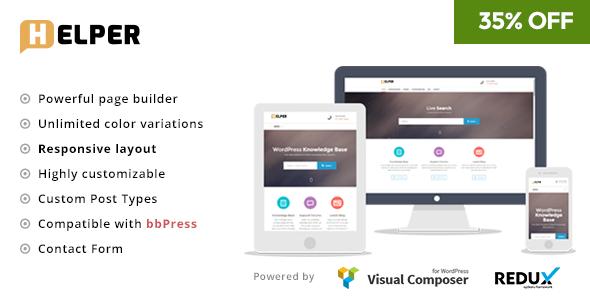 17+ Best Knowledge Base WordPress Themes 2019 17