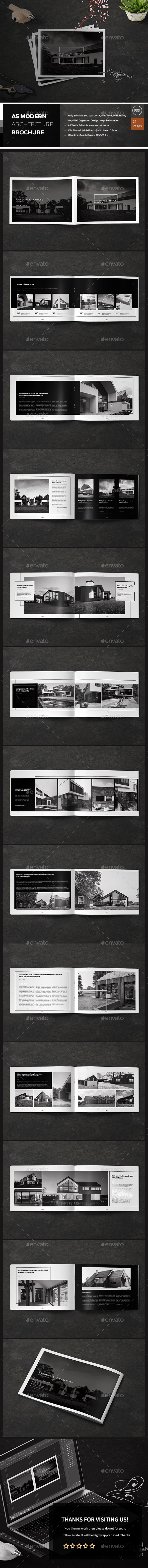 Modern Architecture Brochure - Catalogs Brochures