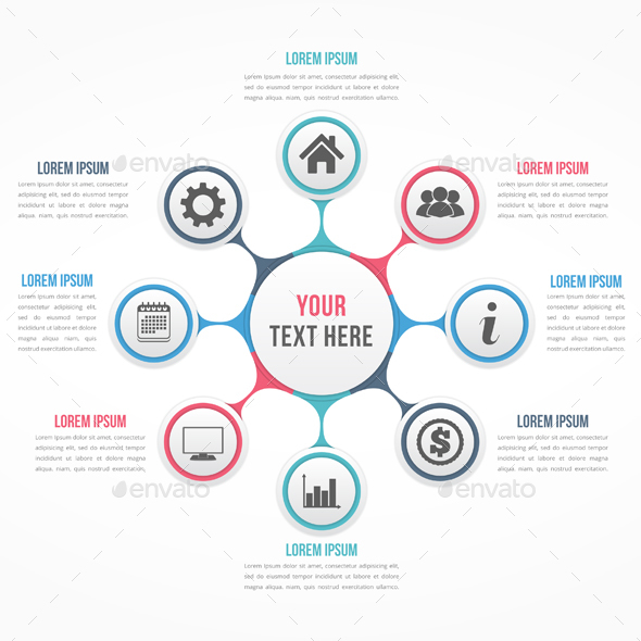 Circle Diagram - Infographics