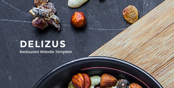 Delizus : Restaurant and Cafe Website Template