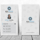 Clean Vertical Business Card - GraphicRiver Item for Sale