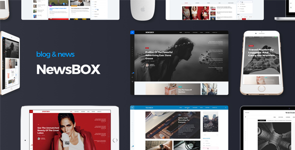 Newsbox – Powerful Blog and Magazine theme