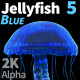 Jellyfish Blue 5 - VideoHive Item for Sale
