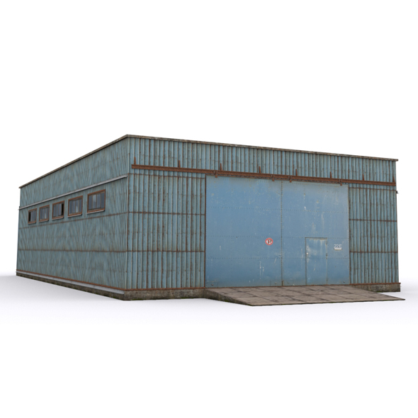 Hangar3 - 3DOcean Item for Sale