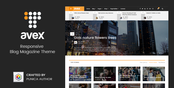 Avex - WordPress Magazine Theme