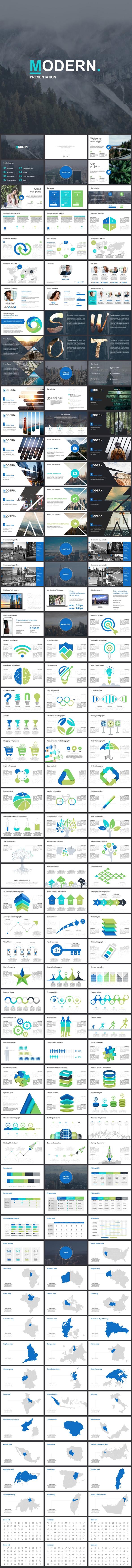 Modern Google Slides Template - Google Slides Presentation Templates