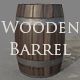 Wooden Barrel - Game Ready Asset