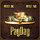 Payday CD Mixtape Cover Template - GraphicRiver Item for Sale