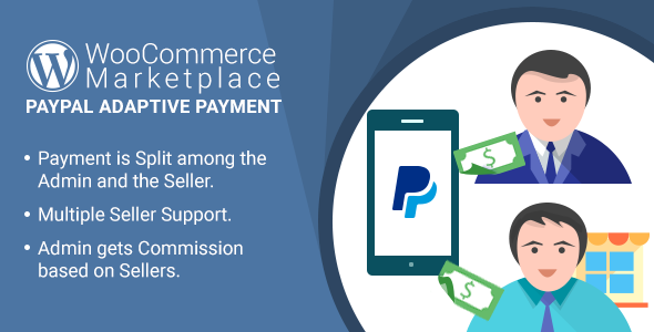 WordPress WooCommerce Marketplace PayPal Adaptive Payment Plugin - CodeCanyon Item for Sale