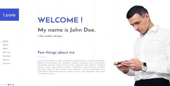 Portfolio / Resume – HTML Template