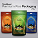 Traditional Premium Rice Packaging