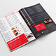 Modern Restaurant A4 Single And Bifold Menu - GraphicRiver Item for Sale