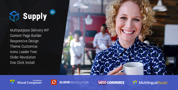 Supply – Water & Coffee delivery WordPress Theme