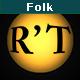 Folk Guitar Logo