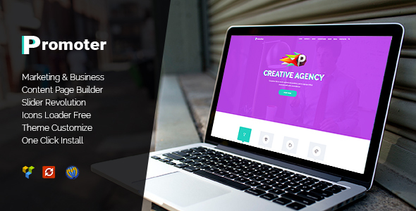 Promoter – WordPress Theme