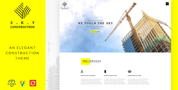 Construction – Architect, Builder & Construction Theme