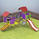 Kids Playground - 3DOcean Item for Sale