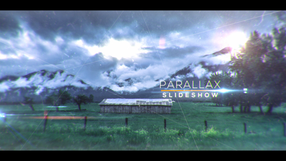 Magic CInematic Parallax Opener and Slideshow