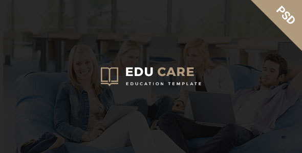 EduCare - Educational PSD Template
