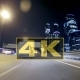 Concept Night Road Through the City  POV By Taxi - VideoHive Item for Sale