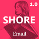 Shore Html Email Template - ThemeForest Item for Sale