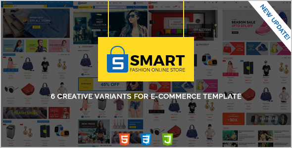 SMART -  Fashion Store, Furniture Store & Shoes Store HTML Template