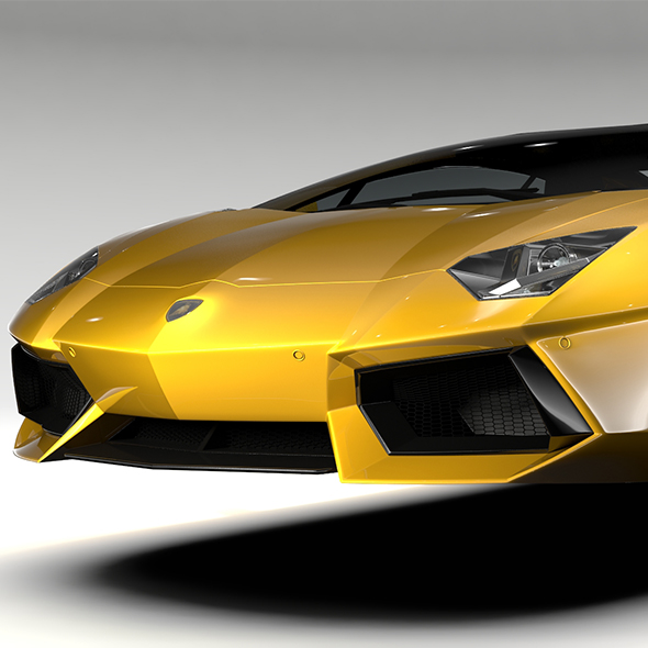 Lamborghini Aventador Flying 2017 - 3DOcean Item for Sale