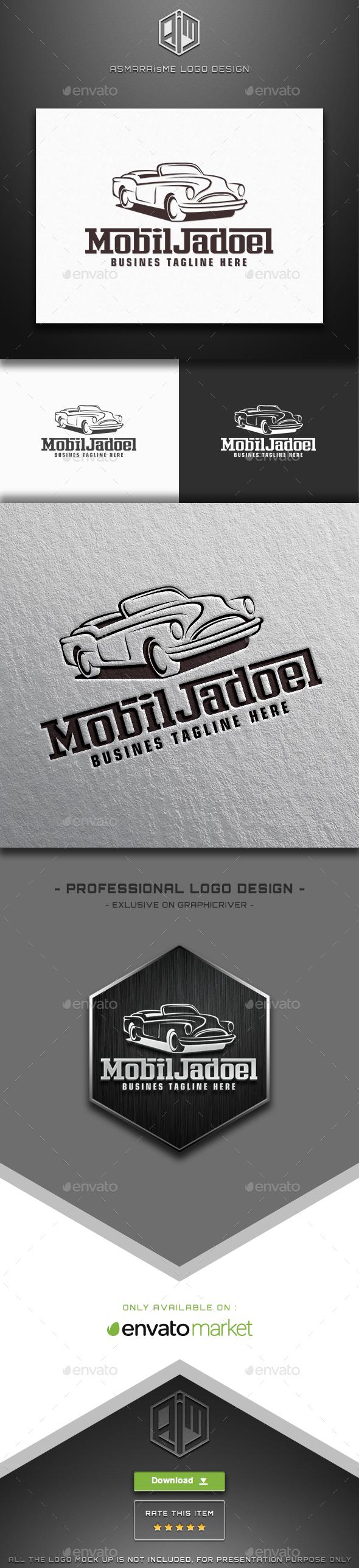 Mobil Jadoel - Vintage Car Logo