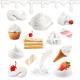 Desserts - GraphicRiver Item for Sale