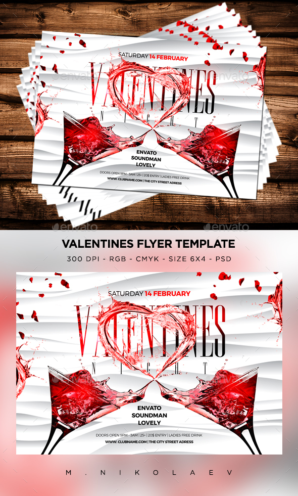 Valentines Night Flyer